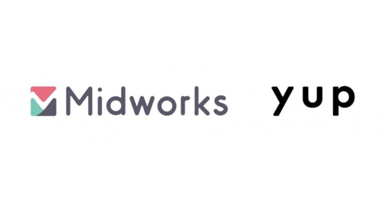 yup(ヤップ)がMidworks運営の Branding Engineer とサービス提携契約を締結