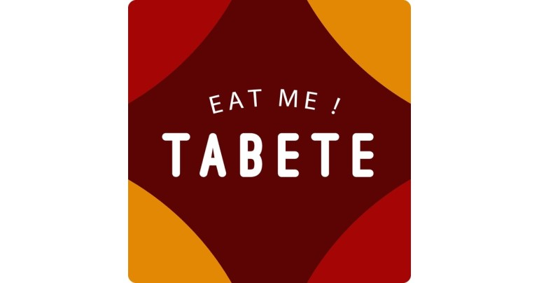 「TABETE」ロゴ 画像